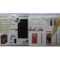 Best Fashion Black Cell Phone Screen Guard for IPhone 4 / 4s wholesale