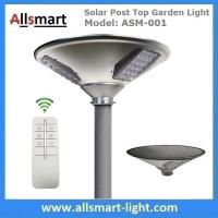 Best New 15W 1500lm UFO Solar Garden Lights All In One Parking Lot Lamp Solar Energy Products With 30W Solar Panel Aluminum wholesale