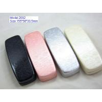 Best Custom Optical Glasses Case PU Leather / PVC Leather Material With Silk Screen wholesale