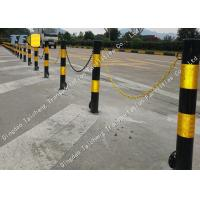 China Durable Removable Security Bollard Driveway Fold Down Security Post 16kg Weight on sale