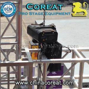 China 500kg truss motor rigging hoist 220V 380V 415V on sale