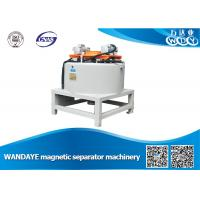 Best Automatic 3T Dry Magnetic Separator With Water / Oil Double Cooling wholesale