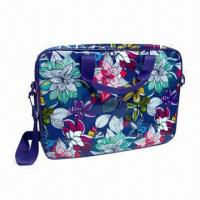 Nylon Laptop Bag with Long Shoulder/Handle, Portable and Easy to Use