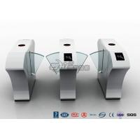 Best Half Height Access Control Turnstile Automatically Flap Barrier With Acrylic Flap wholesale