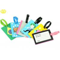 Best Eco-friendly Silicone Gifts , Rubber Soft PVC Luggage Tag non-toxic wholesale