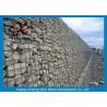 Buy cheap Aluminum-zinc Alloy Cage Gabion Wire Mesh / Hexagonal Gabion Box from wholesalers