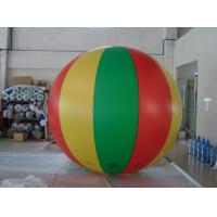Best No priniting 2.5m dia. color mixed advertising balloon blimp Fireproof PVC Advertising Helium Balloons wholesale