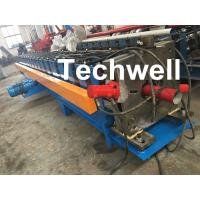 Best 0-15m/Min Forming Speed Downpipe Machine, Rainspout Roll Forming Machine With Coil Thickness 0.4-0.6mm wholesale