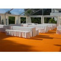 Best Restaurant Tent With Large Canopies, Clear Outdoor Event Tents With Transparent PVC Roof wholesale