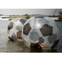 Best Football Pattern Water Hamster Ball , Leak Proof Human Hamster Ball For Water wholesale