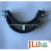 Quality Heavy Duty Pipe Mounting Clamps , 1.8 - 2.0 mm Thickness Tube Strap Clamp wholesale
