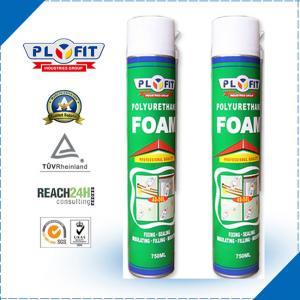 Best Adhesive Sealant REACH 30kPa 750ml PU Foam Spray wholesale