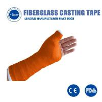 Buy cheap Medical consumables fracture polyester soft casting tape surgical Orthopedic fracture bandage from wholesalers