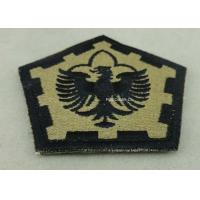 Best The Pentagon Clothes Patches Badges , Custom Embroidery Patches With Velcro wholesale
