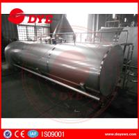 Best Direct Enery Efficient Stainless Steel Tank Mueller Milk Tank For Dairy wholesale