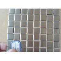 Best Decorative Flat Wire Mesh Stainless Steel Plain Weave For Exhibition Hall wholesale