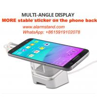Best COMER for mobile phone accessories stores cell phone security alarm retail display bracket desk display holders wholesale