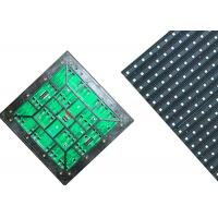 Cheap High Precision Led Display Module , 16mm Pixel Led Module With Aluminum Cabinet for sale