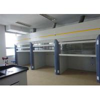 Best Easily Cleaned Walk In Fume Hood ≥800Lux Illumination Portable Cabinet FH1200W wholesale