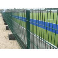 Best Public Grounds Steel Mesh Fencing / Security Fence Panels Anti - Oxidation wholesale