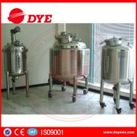 Best DYE Steam Heating Stainless Steel Water Tanks Alcohol Yoghurt wholesale