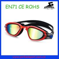 Best Pure color lens water sports swimming goggles sport silicone swimming goggles wholesale