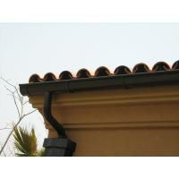 Cheap Lightweight Square Rain Gutters , Roof Rain Gutter Seamless Rain Gutter wholesale