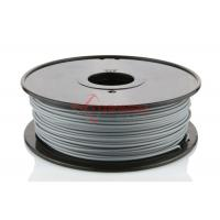Best 1.75mm ABS 3D Printer Filament Gray 1KG / Spool , 3D Printer Material wholesale