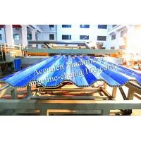 Cheap PVC anti-corrsion hollow roofing sheet/roof tile extrusion production line for sale