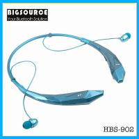 New HBS-902 Stereo Bluetooth headphone With mic Unique wireless sports neckband Headset