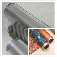 Best Fabric Nickel Screen Accurate Textile Rotary Screen Printing 195M wholesale