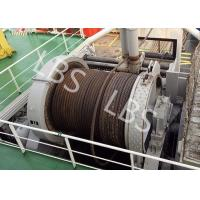 Best 10 Ton 20 Ton 50T Ship Traction Marine Winch With Spooling Device wholesale