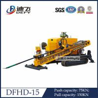 Best Pipeline Drilling Rig Horizontal Directional Drilling Machine DFHD-15 wholesale