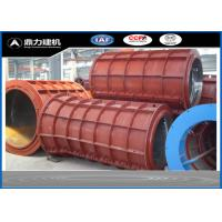 Best Customized Diameter Concrete Pipe Mold For Water Pipe Outer Casing wholesale