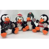 Beautiful Penguin Stuffed Animal , Stuffed Animal Christmas Ornaments For Celebrate Party
