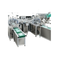 Buy cheap Upper Roller 60pcs/Min Face Mask Manufacturing Machine from wholesalers