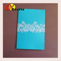Best laser Cut wedding invitation envelope Ring Pearl paper Customized decorated Invitation Envelope Ring wholesale