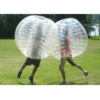Best Transparent Inflatable Bumper Ball , Human Bubble Ball Durable Plato PVC wholesale