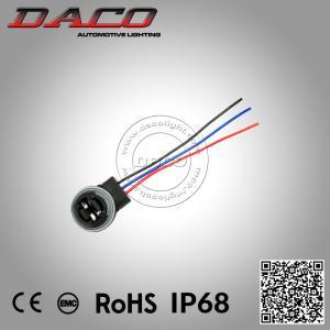 Best T25 3157 Socket Brake Lamps Base Lampholder Bulb Connectors Car-styling Parking T25 3157 Holder wholesale