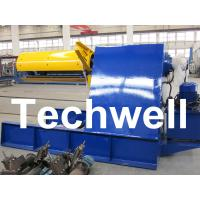 Best Custom 5 - 20 Ton Curving Machine Hydraulic Decoiler With Pneumatic Damp Pressing Arm wholesale