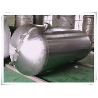 Best Customized Color Horizontal Air Receiver Tanks Carbon Steel / Stainless Steel wholesale