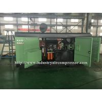 Buy cheap Diesel Driven Screw Air Compressor Easy Serviceability For Water Well Drilling Rig from wholesalers