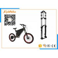 Best 5000W Full Suspension Electric Assist Bike 72V , Stealth Bomber Electric Bike Bicycle For Snow / Beach wholesale