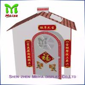 Cheap Custom cardboard toy house , Mini cardboard playhouses for kids for sale