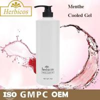 Best 1000ml natural organic Menthe Cooled Skin Gel Cold Mask for keeping calm wholesale