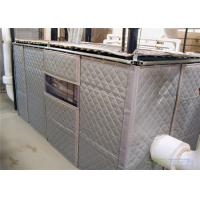 Best Temporary Sound Wall Insulation and absorb Noise Minimum 25dB Customized Size 1200mm x 2400mm wholesale