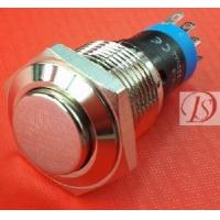Best Anti-Vandal Pushbutton Switch (16mm) Brass wholesale