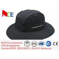 Best Summer Camping Climbing Fisherman Outdoor Boonie Hat / ACE Black Bucket Hat wholesale
