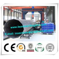 Quality Street pole assembling machine for wind tower production line , Heavy light pipe welding machine wholesale