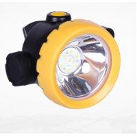 China Inductive Charging Coal Miners Hat Light , Rechargeable Miners Headlamp on sale